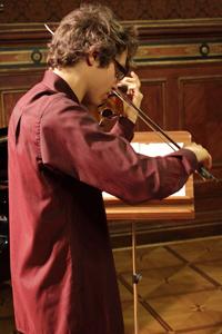 Adam Siebers – Poland / Marcin Sikorski – piano S. Prokofiev – 2nd Sonata in D major Op. 94a, K. Penderecki – Cadenza, I. Dunayevsky/S. Dreznin – 'Circus' Fantasy